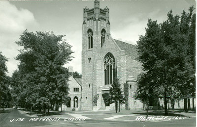 Trinity United Methodist Church postcard