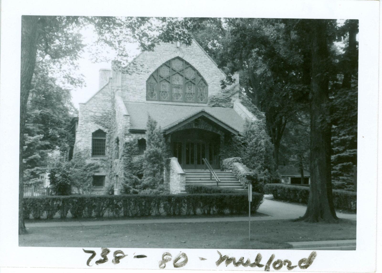 Wilmette Baptist Church renamed Community Church of Wilmette