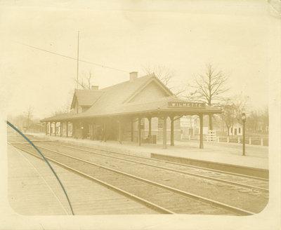 Chicago and Northwestern railroad passenger depot