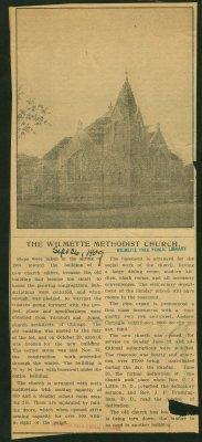 The Wilmette Methodist Church