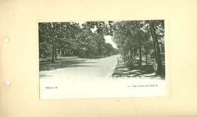 View of intersection of Lake Avenue and Ninth St.