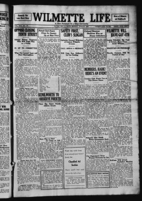 Wilmette Life (Wilmette, Illinois), 27 Jun 1924