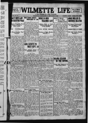 Wilmette Life (Wilmette, Illinois), 5 Sep 1924