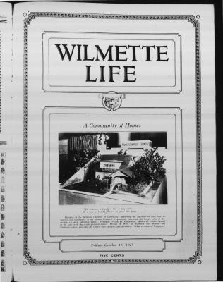 Wilmette Life (Wilmette, Illinois), 16 Oct 1925