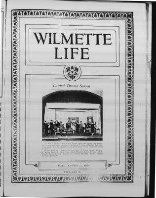 Wilmette Life (Wilmette, Illinois), 27 Nov 1925