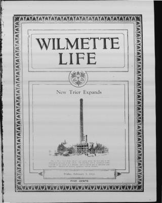 Wilmette Life (Wilmette, Illinois), 5 Feb 1926