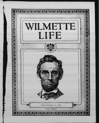 Wilmette Life (Wilmette, Illinois), 12 Feb 1926