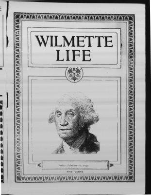 Wilmette Life (Wilmette, Illinois), 19 Feb 1926