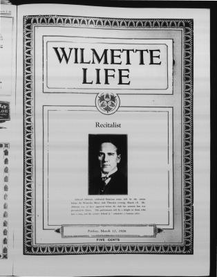 Wilmette Life (Wilmette, Illinois), 12 Mar 1926