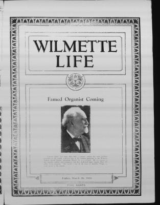 Wilmette Life (Wilmette, Illinois), 26 Mar 1926