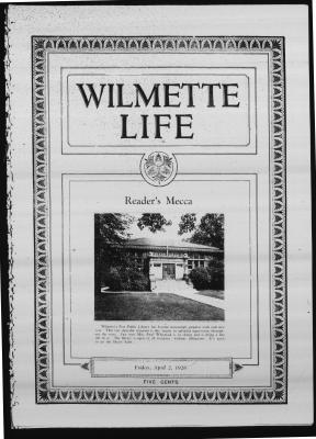 Wilmette Life (Wilmette, Illinois), 2 Apr 1926