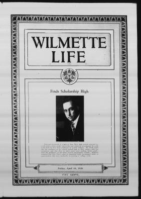 Wilmette Life (Wilmette, Illinois), 16 Apr 1926