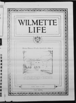 Wilmette Life (Wilmette, Illinois), 23 Apr 1926