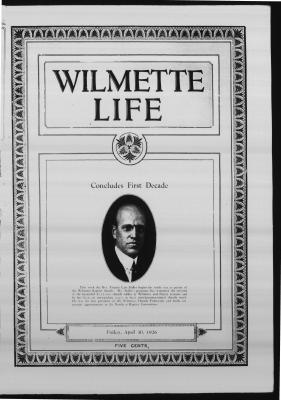 Wilmette Life (Wilmette, Illinois), 30 Apr 1926