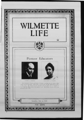 Wilmette Life (Wilmette, Illinois), 4 Jun 1926