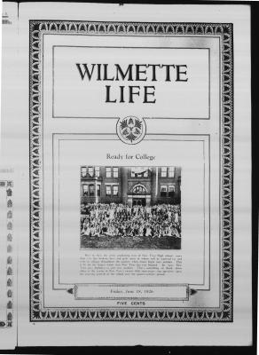Wilmette Life (Wilmette, Illinois), 18 Jun 1926