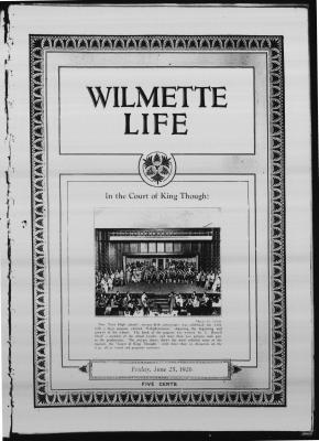 Wilmette Life (Wilmette, Illinois), 25 Jun 1926