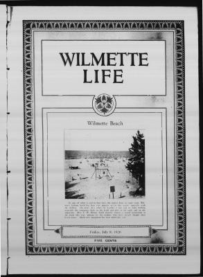 Wilmette Life (Wilmette, Illinois), 9 Jul 1926