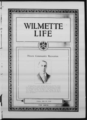Wilmette Life (Wilmette, Illinois), 16 Jul 1926