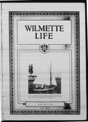 Wilmette Life (Wilmette, Illinois), 23 Jul 1926