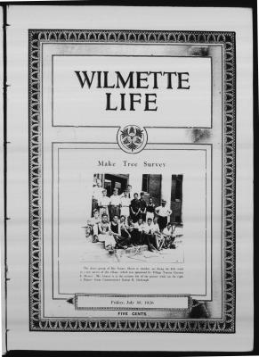 Wilmette Life (Wilmette, Illinois), 30 Jul 1926