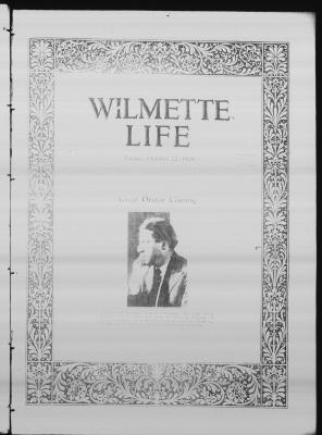 Wilmette Life (Wilmette, Illinois), 22 Oct 1926