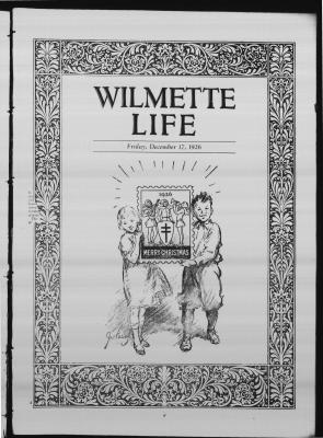 Wilmette Life (Wilmette, Illinois), 17 Dec 1926