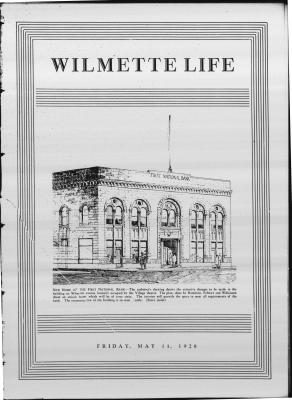 Wilmette Life (Wilmette, Illinois), 11 May 1928