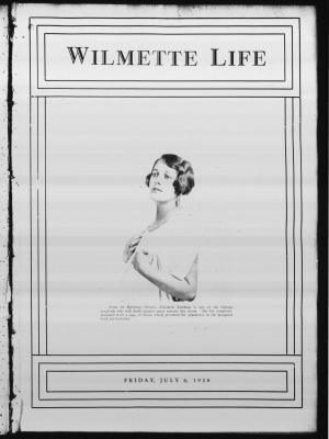 Wilmette Life (Wilmette, Illinois), 6 Jul 1928