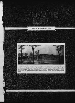 Wilmette Life (Wilmette, Illinois), 2 Nov 1928