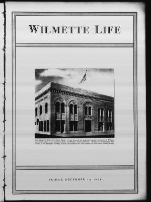 Wilmette Life (Wilmette, Illinois), 14 Dec 1928