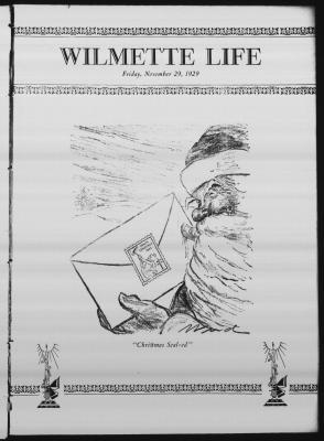 Wilmette Life (Wilmette, Illinois), 29 Nov 1929