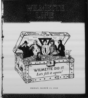 Wilmette Life (Wilmette, Illinois), 15 Mar 1929