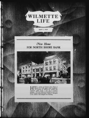 Wilmette Life (Wilmette, Illinois), 5 Apr 1929