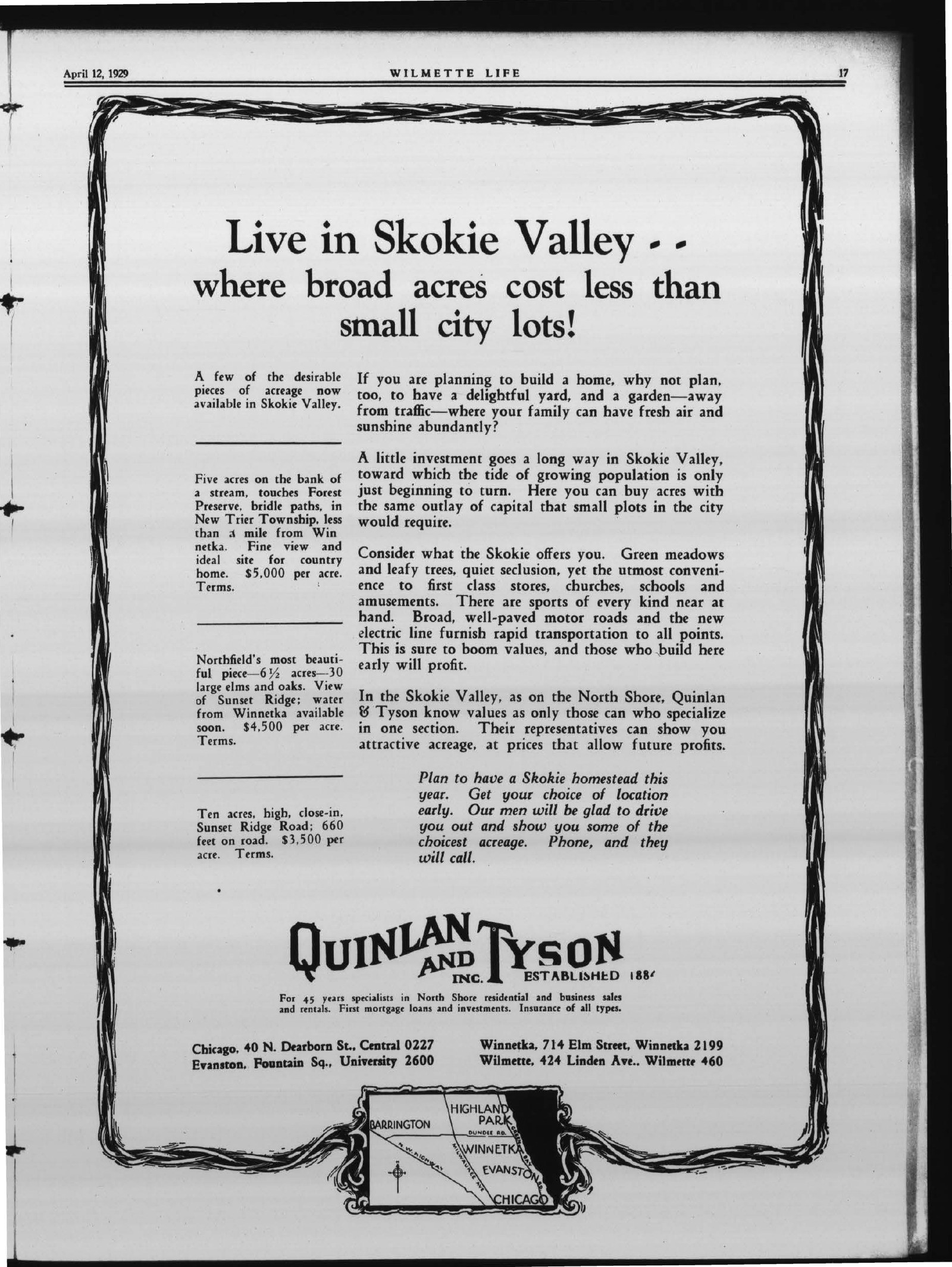 Wilmette Life (Wilmette, Illinois), 12 Apr 1929