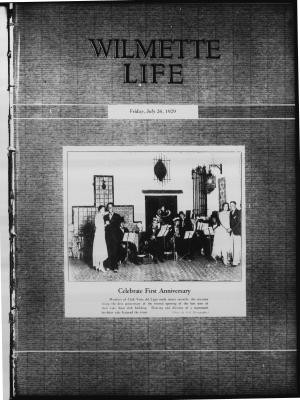 Wilmette Life (Wilmette, Illinois), 26 Jul 1929