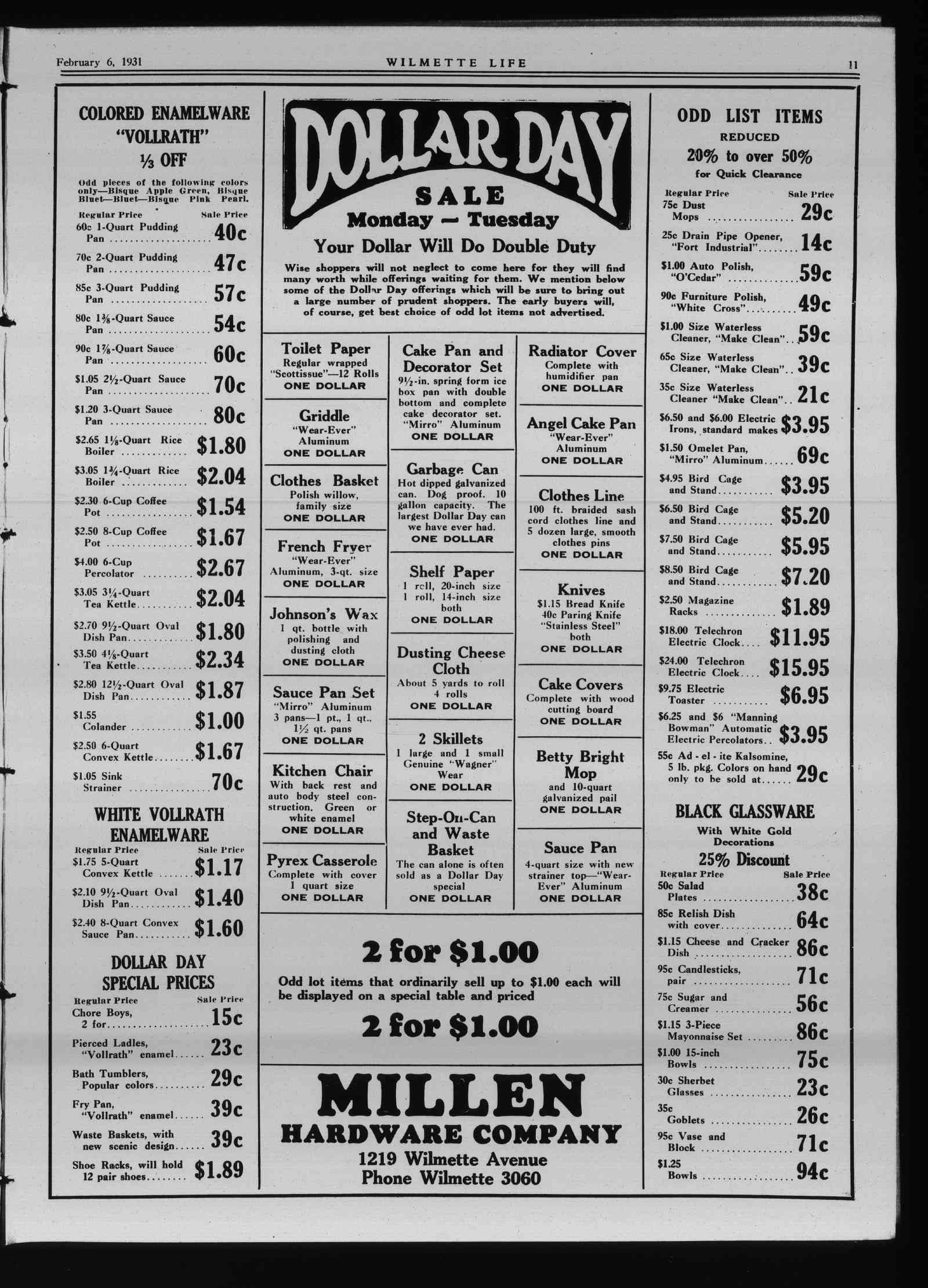 Wilmette Life (Wilmette, Illinois), 6 Feb 1931
