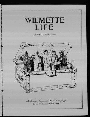 Wilmette Life (Wilmette, Illinois), 21 Mar 1930