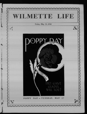 Wilmette Life (Wilmette, Illinois), 23 May 1930