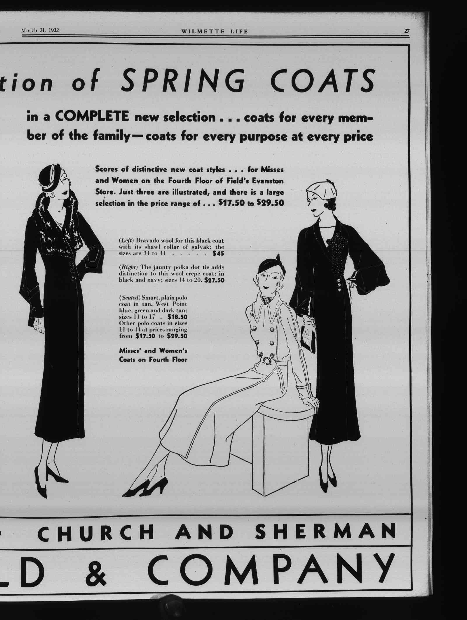 Wilmette Life (Wilmette, Illinois), 31 Mar 1932