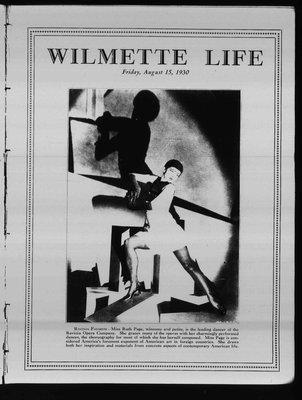 Wilmette Life (Wilmette, Illinois), 15 Aug 1930