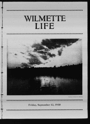 Wilmette Life (Wilmette, Illinois), 12 Sep 1930