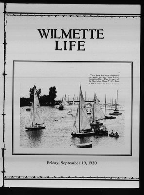 Wilmette Life (Wilmette, Illinois), 19 Sep 1930