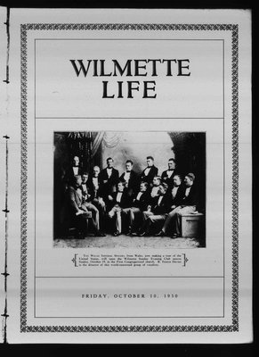 Wilmette Life (Wilmette, Illinois), 10 Oct 1930