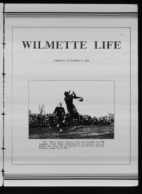 Wilmette Life (Wilmette, Illinois), 17 Oct 1930