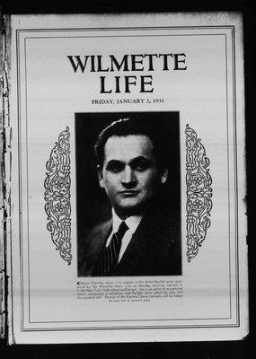 Wilmette Life (Wilmette, Illinois), 2 Jan 1931
