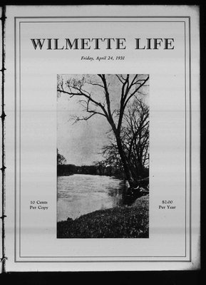 Wilmette Life (Wilmette, Illinois), 24 Apr 1931
