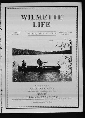 Wilmette Life (Wilmette, Illinois), 1 May 1931