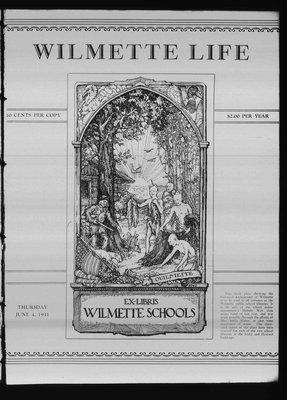 Wilmette Life (Wilmette, Illinois), 4 Jun 1931