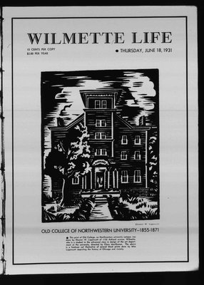 Wilmette Life (Wilmette, Illinois), 18 Jun 1931